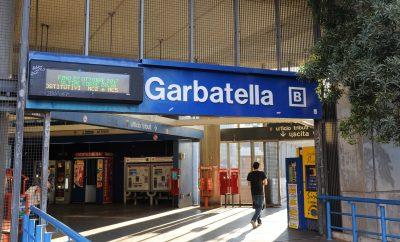 La stazione Metro Garbatella